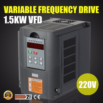 Variable Frequency Drive Inverter VFD 2HP 1.5KW 7A 220-250V