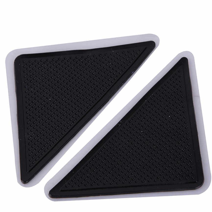 4 шт. Домашний напольный коврик ковер Коврик захваты самоклеющиеся противоскользящие Tri стикер многоразовый моющийся силиконовый стикер на ручку колодки D #3