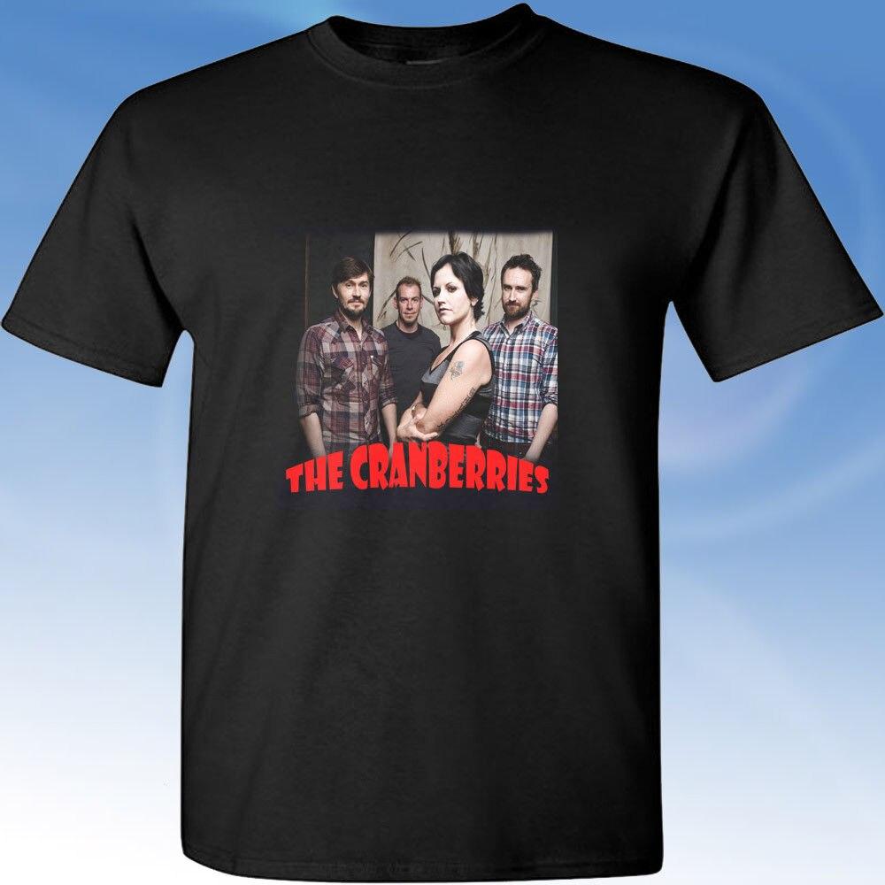 Lingonberry Retro Vintage Dolores O'Riordan Memorial Sort T-shirt shirtHip-hop kort ærmet