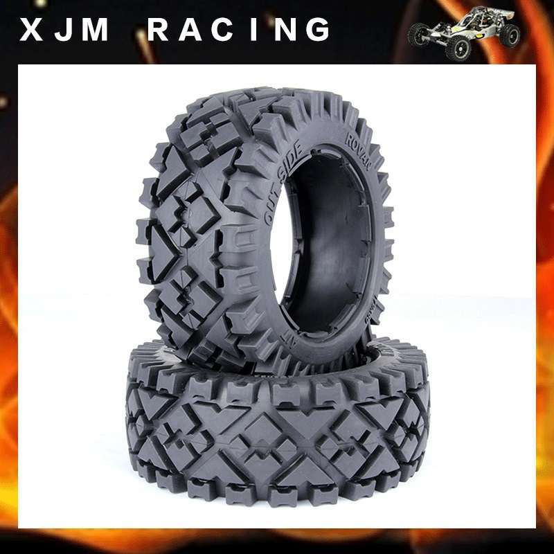 Front All Terrain Tire X2pcs for HPI Baja  5B, SS, 2.0 Tuning Flux Carbon Fighter Or inov 8 носки all terrain sock mid l white