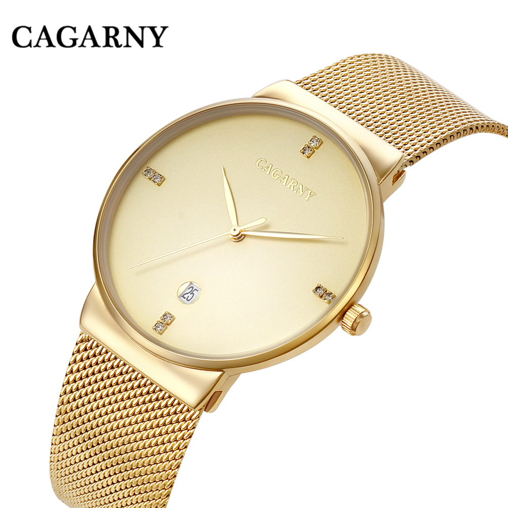 New fashion luxury brand men watch strip automatic date business casual waterproof quartz watch