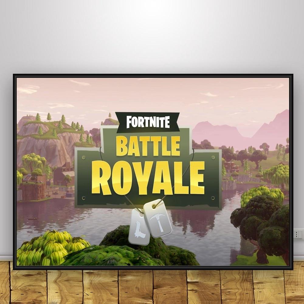 Fortnite Battle Royale Game Art Poster Print Home Decor
