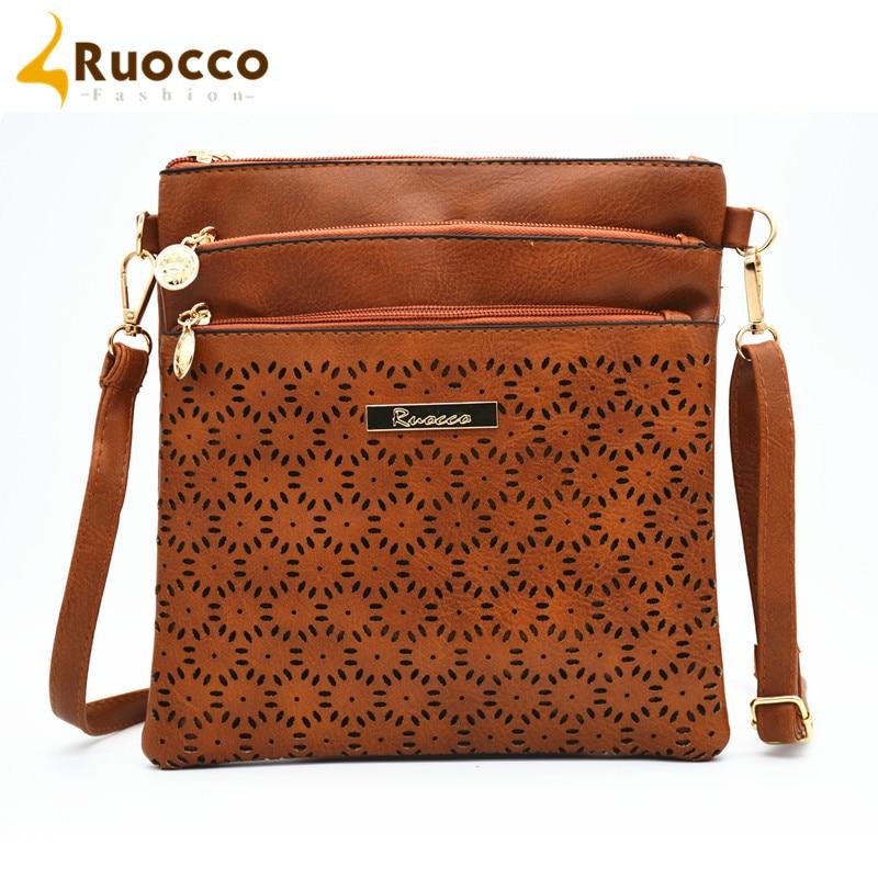 401eb73077b6 2016 Small Casual Women Messenger Bags PU Hollow Out Crossbody Bags Ladies  Shoulder Purse And Handbags Bolsas Feminina