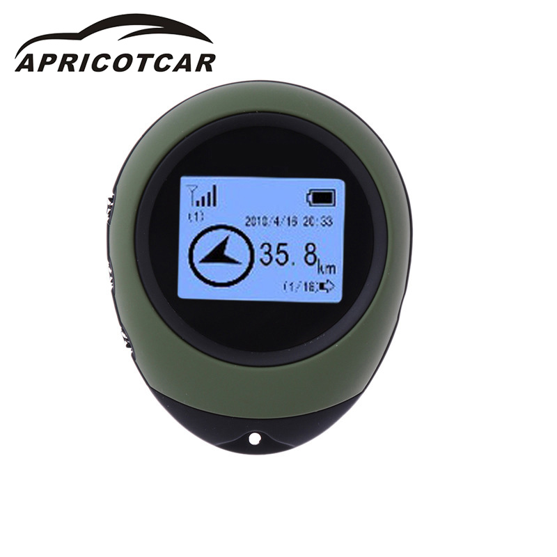 GPS Locator Tracker Handheld High-Precision Outdoor Car Altitude-Table Theodolite-Navigation-Adventure