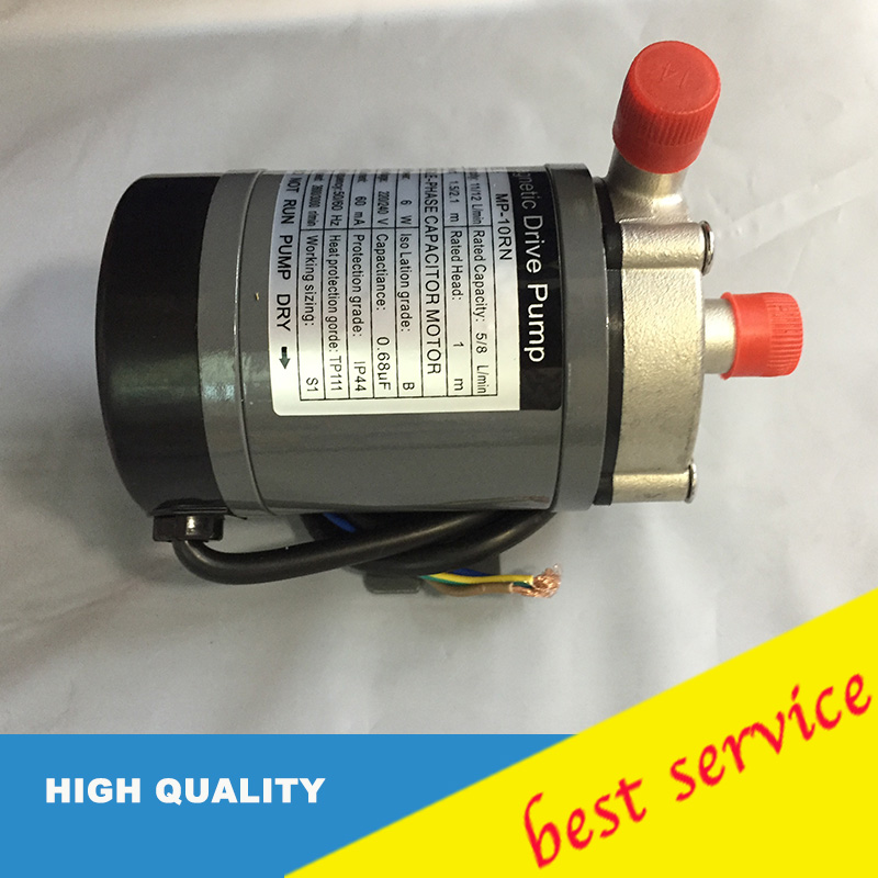 China GuangzhouNew Food Grade Homebrew Magnetic Drive Pump MP-10RN With Stainless Steel Head