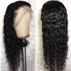 Fantasy Schoonheid Haar 13x6 Lace Front Pruiken Krullend Synthetische Lange Pruiken Hittebestendige Vezel Haar voor Zwarte Vrouwen