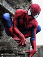 Spider man Spiderman Costume 3D Print Spandex Cosplay Costume for Halloween Party Hot sale Freeshipping Zentai Suit