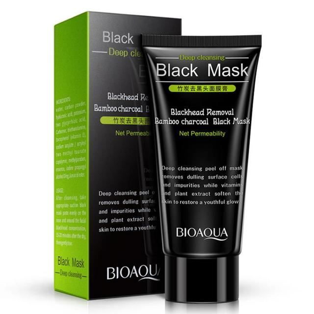 Best Skin Care NEW Black Mud Deep Cleansing Blackhead Remover Purifying Peel Face Mask For Dropshipping 5