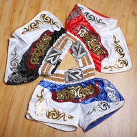 Twins King Muay Thai MMA Boxing Trunks Men Women Lycra Cool Pro Training Fitness Punching Match Trousers Shorts Trunks