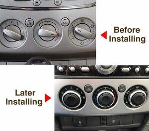 Image 2 - تكييف الهواء مراقبة الحرارة مقبض مفتاح التشغيل لفورد التركيز 2 MK2 التركيز 3 MK3 مونديو AC المقبض السيارات 3 قطعة/المجموعة ل التركيز سيارة التصميم
