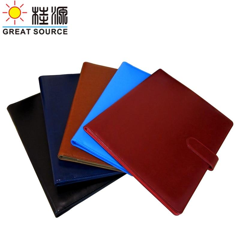 Leather Folder A4 File Portfolio Compendium Folder Manager Padfolio