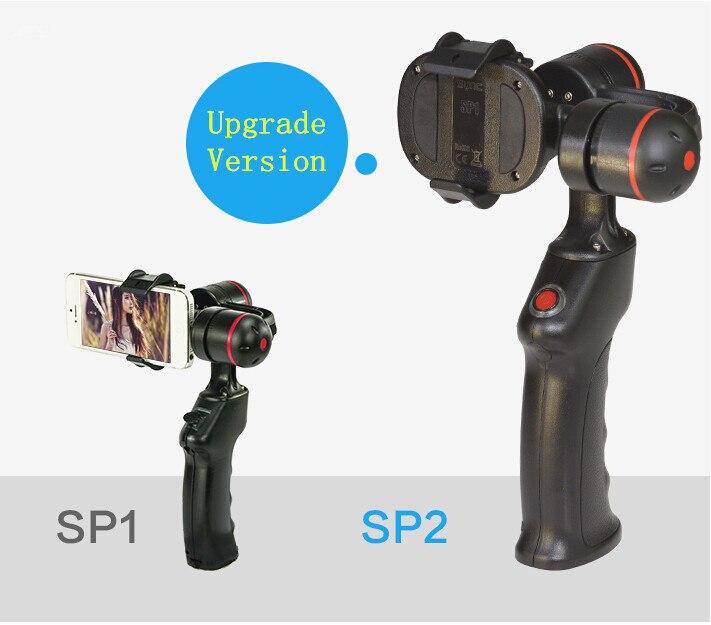 F14959 Wenpod SP2 Smartphone Gimbal Stabilizer Handheld Gimbal 360 Degree for Brand Smartphone yuneec q500 typhoon quadcopter handheld cgo steadygrip gimbal black