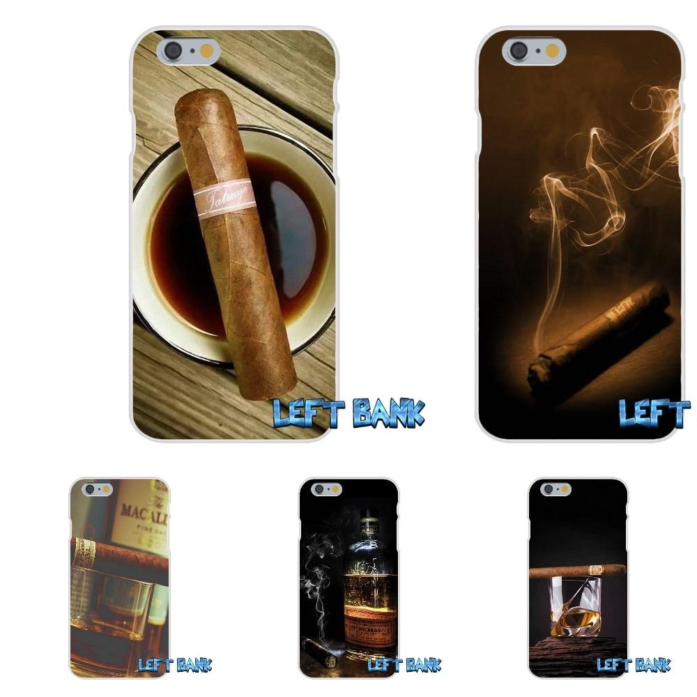 For Samsung Galaxy A3 A5 A7 J1 J2 J3 J5 J7 2016 2017 Love Cigar Smoke Wallpaper Soft Silicone