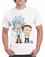 Rick And Morty T Shirt Men Rick Morty Print T Shirts Novelty Funny Clothes Tshirts Man