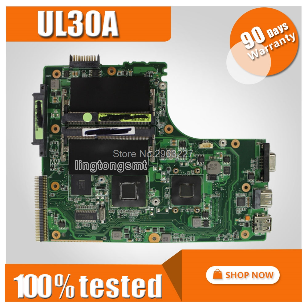 Original For ASUS UL30A UL30 Mainboard UL30A Laptop Motherboard GS45 Express Chipset 100% Tested 5piece 100% original cx20587 11z cx20587 11z qfn chipset