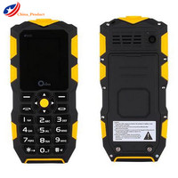 (Gift!) Oeina XP1 Russian Keyboard IP68 Waterproof and shockproof mobile phone 2500mAH Wireless FM flashlight Outdoor cell phone