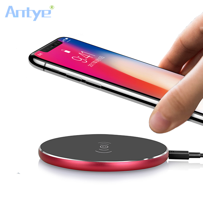 For iPhone 8 X Wireless Charger 5V 2A Original Qi Charging Pad Samsung Galaxy S8 Note Devices