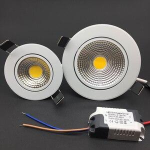 Image 3 - 調光対応 Led ライトランプ Horizan 天井スポットライト 3 ワット 5 ワット 7 ワット 10 ワット 85 265V 天井凹型インテリア照明ランプ