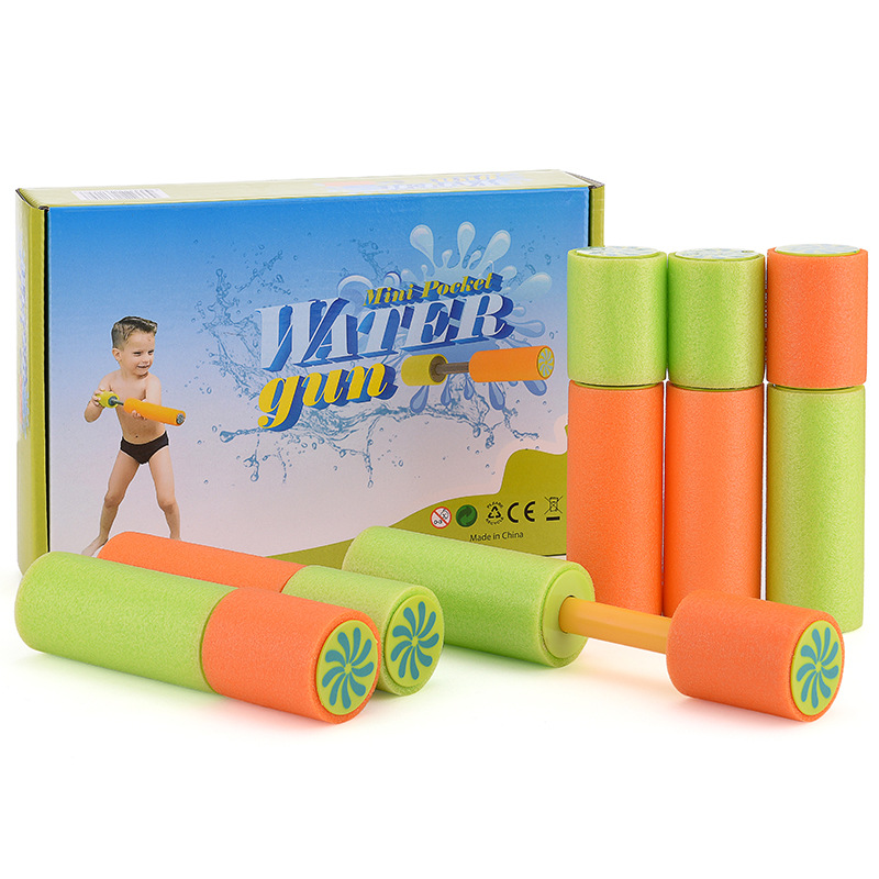 Hot selling summer beach water toys foam EVA material pump type water cannon water gun