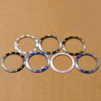 Watch Parts, 38mm Ceramic Bezel Fit for SUB Automatic WristWatches , 7 Colors Bezel for DIY Watch, 40mm Watch Inserting