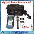 De alta Qualidade da Fibra Ruiyan RY3200A Caneta Testador Medidor de Potência Óptica e Laser De Fibra Óptica Visual Fault Locator 10 mw 10 KM