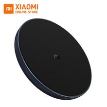 Оригинальное Беспроводное зарядное устройство Xiaomi, зарядное устройство Mi Type-C 10 Вт, быстрое зарядное устройство для Mi Mix 2S iphone 8 plus Samsung S9
