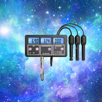 PH Tester Wall Mounted Six In One Online Multi Parameter Water Quality Monitor Water Quality Multi Parameter Detector Aquarium