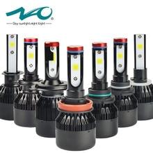 HA CONDOTTO LA luce Dell'automobile h4 ha condotto la lampadina H7 lampadina del faro H1 h3 H8 H9 H11 HB3/9005 HB4/9006 9004 9007 H27/880 Impermeabile Ad Alta/Bassa del Fascio Lampada K1