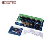 1A * 18CH WS-DMX-18CH-LED باهتة LED فك 18 قناة DMX led تحكم عن led DC12V-24V