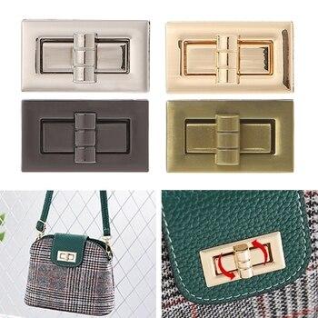 Fashion 2018 New Metal Clasp Turn Lock Twist for DIY Handbag Craft Bag Purse Hardware Accessories
