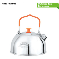 BRS TS06 BRS TS07 Stainless Steel Tea Pot Camping Kettle Outdoor Water Kettle New Arrival Camping