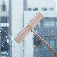 YI HONG Telescopic Handle Window Cleaners Cleaning Brush For Washing Windows Brush Glass Wiper Multifunction Home