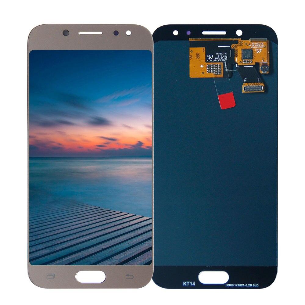 Pour SAMSUNG GALAXY J5 2017 LCD J530 J530F SM-J530F écran tactile numériseur assemblée remplacement