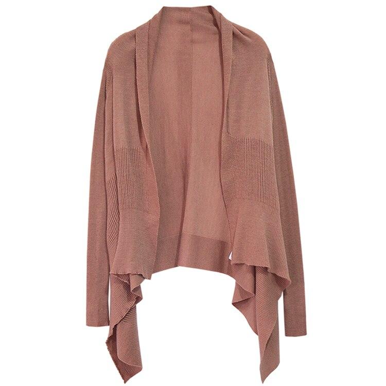 1 Moda Sweater Pista De Las Alta Suéter Caliente Calidad 2 Lana Cardigan Otoño Primavera Oversized Jumper Mujeres Invierno CvqCza6