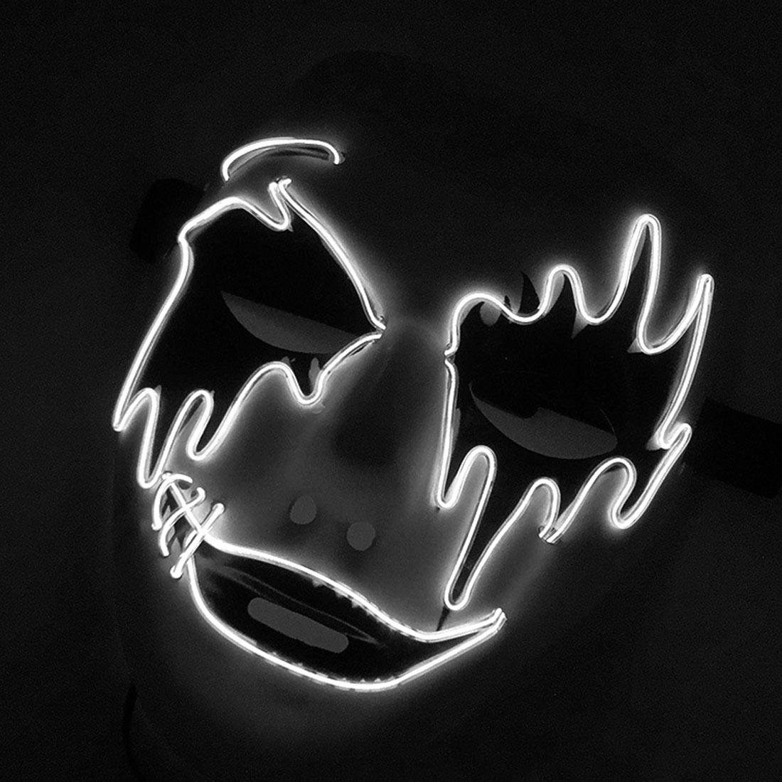 Halloween Scary Maske LED Licht Up Masken Die Purge Wahl Jahr Große Festival Cosplay Kostüm Liefert Party Masken Glow In dark