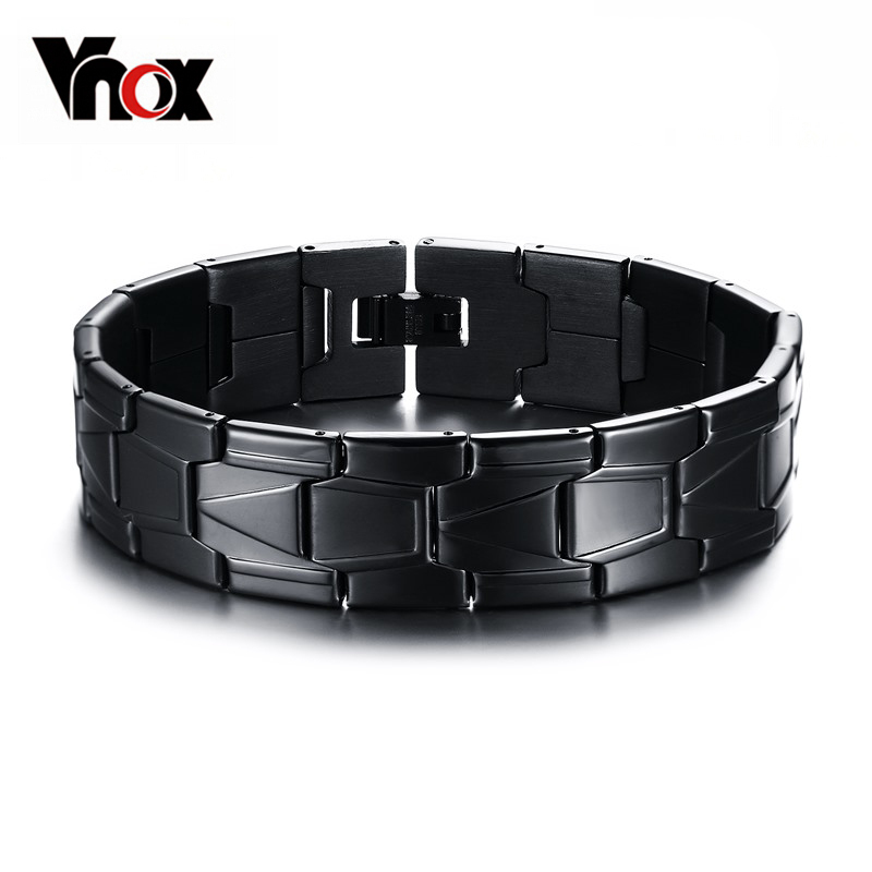 Vnox 16mm Black Stainless...