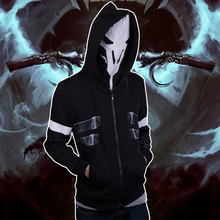 OW Reaper Two piece Coat Spring Hoodie Cosplay Costume Free Shipping