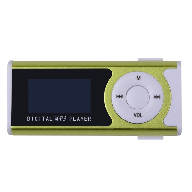 Nuevo mini clip Pantalla LCD Reproductor de música MP3 Reproductor - Audio y video portátil - foto 4