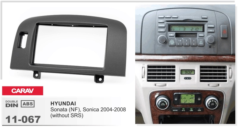 Frame Android 6 0 Car Dvd Player For Hyundai Sonata Nf Sonica 2004 2008 1080p Multimedia Stereo