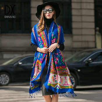2019 New Fashion Winter Scarf For Women Scarves Warm Shawls Luxury Brand Wrap Plaid Blanket Scarf Wool Cashmere Foulard Long - DISCOUNT ITEM  45 OFF Apparel Accessories