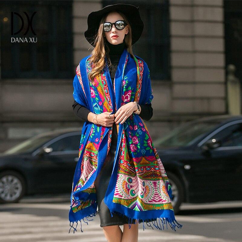 2019 nouvelle mode hiver écharpe pour femmes écharpes châles chauds marque de luxe Wrap Plaid couverture écharpe laine cachemire Foulard Long