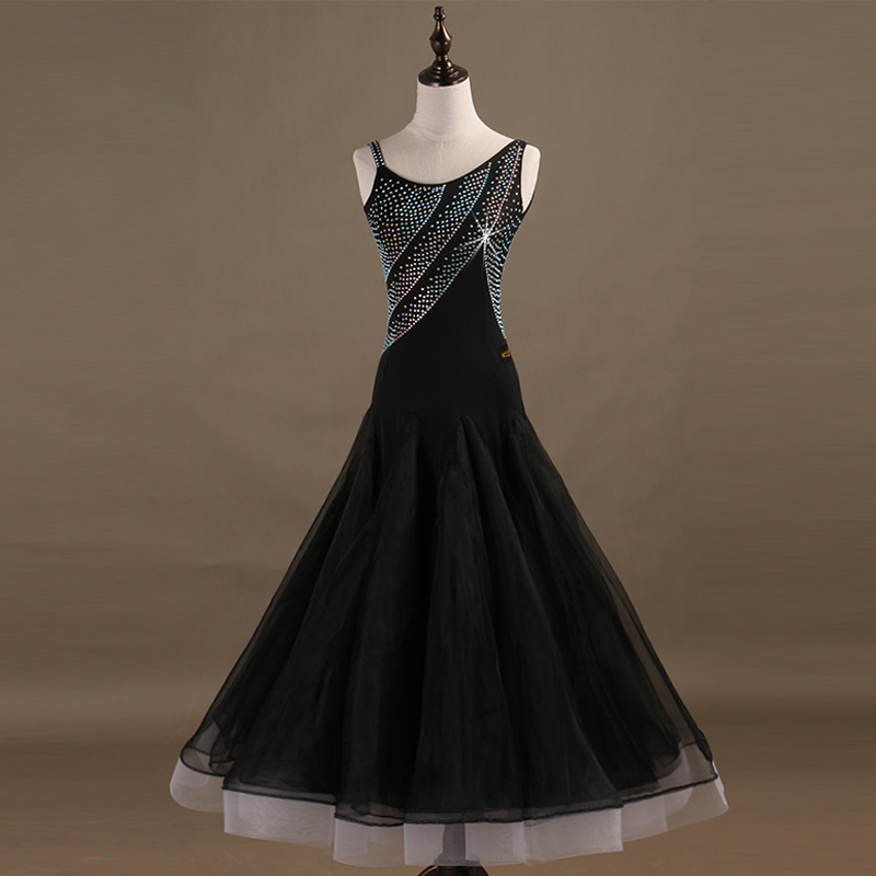 Ballroom Competition Dance Dresses Women Standard Modern Dancing Skirt Adult High Quality Waltz Ballroom Dancing Dress