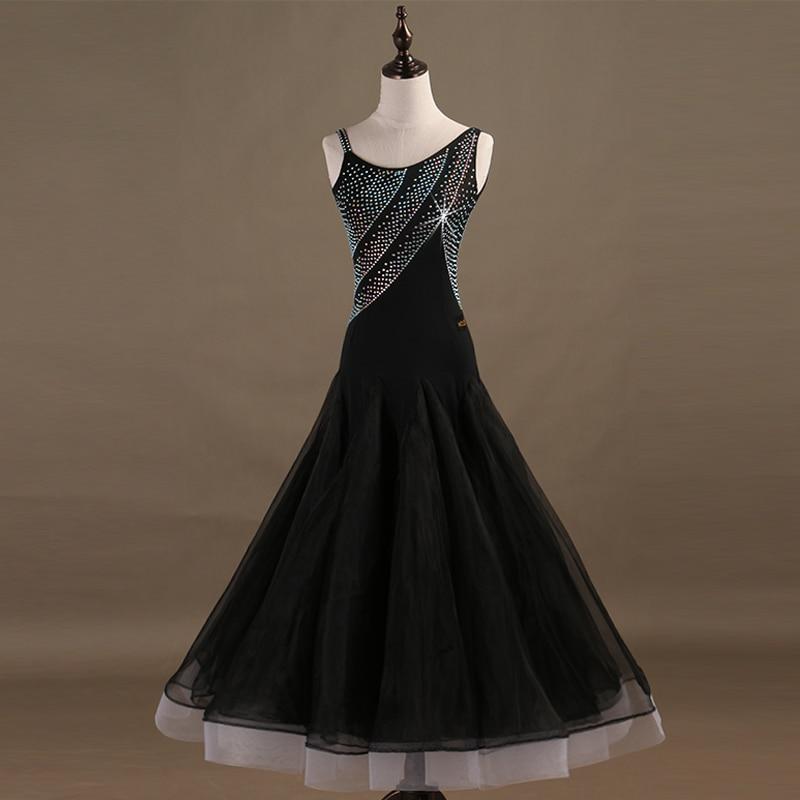 Ballroom Competition Dance Dresses Women Standard Modern Dancing Skirt Adult High Quality Waltz Ballroom Dancing Dress