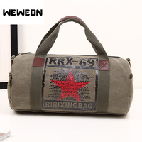Hot Selling Canvas Sport Bag Training Gym Bag Men Woman Fitness Bags Durable Multifunctional Sports Handbag