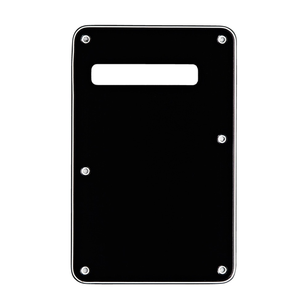 Musiclily Strat Tremolo Cavity Cover Backplate for Fender Stratocaster Modern Style Electric Guitar Parts