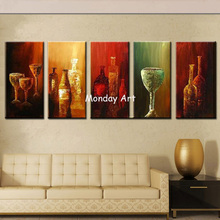 Large Size Wall Art Abstract Canvas Paintings Modern Oil Painting On Home Decoration Living Room Pictures Handpainted