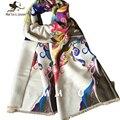 Женщины Красочные Зима Кашемир Шарфы Бренд Дизайнер одеяло шарф Новый Стиль Осень Зима echarpes foulards femme Дамы Шаль