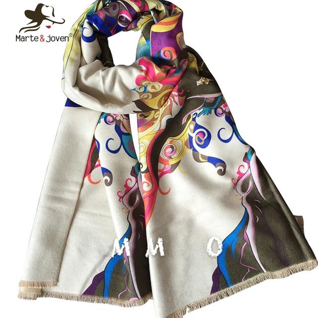 Women Colourful Winter Cashmere Scarfs Brand Designer blanket scarf New Style Autumn Winter echarpes foulards femme Ladies Shawl