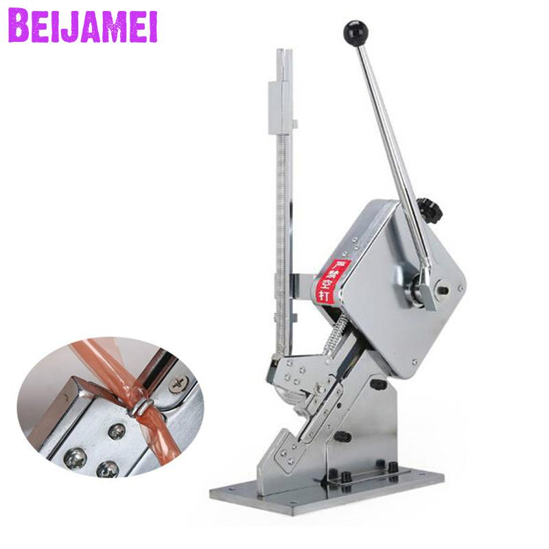 Beijamei 2019 New Food Processor Commercial Sausage Clipping / U-type Sausage Bag Manual Clipper Machine For SupermarketBeijamei 2019 New Food Processor Commercial Sausage Clipping / U-type Sausage Bag Manual Clipper Machine For Supermarket