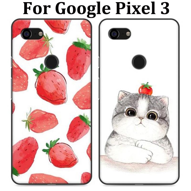 For Google Pixel 3 Case Cute Cartoon Soft Phone Case For Google Pixel3 Cover Protection Shell Fundas For Google Pixel 3 Capas